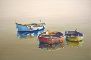 3 Boats Yellow by Edward Park