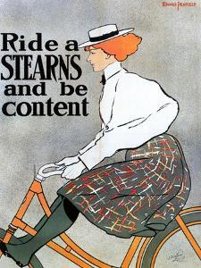Bicycle Poster, 1896 by Edward Penfield