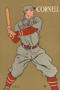 Cornell Baseball by Edward Penfield
