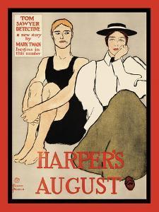 Harper's August by Edward Penfield