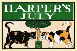 Harper's July by Edward Penfield