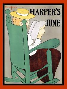 Harper's June by Edward Penfield
