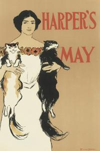 Harper's Magazine, May 1897 by Edward Penfield