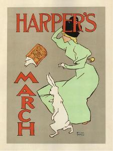 Harper's March, 1894 by Edward Penfield