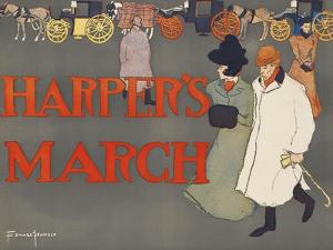 Harper's March by Edward Penfield