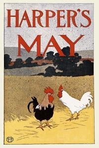 Harper's May by Edward Penfield