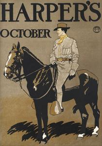 Harper's October by Edward Penfield