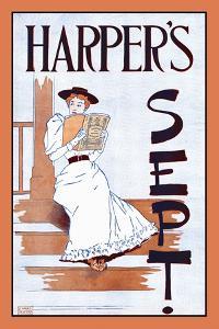 Harper's Sept. by Edward Penfield