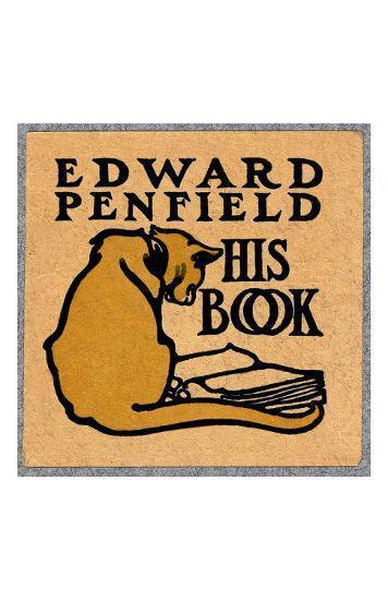 Edward Penfield, His Book-Edward Penfield-Art Print