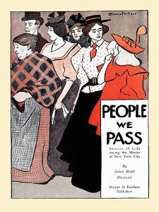 People We Pass by Edward Penfield