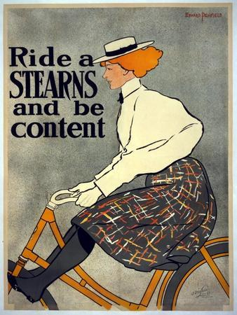 Ride a Stearns and Be Content, C.1896