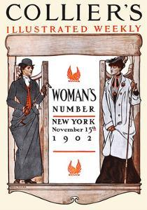Women's Number New York by Edward Penfield