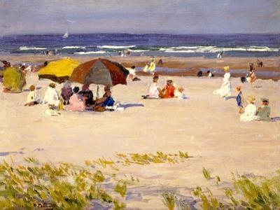 Beach on Long Island by Edward Potthast