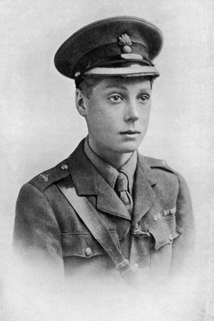 Edward, Prince of Wales, First World War, 1914-1918--Giclee Print
