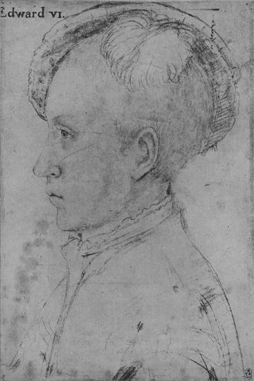 'Edward, Prince of Wales (Not by Holbein)', c1550-1599, (1945)-Unknown-Giclee Print