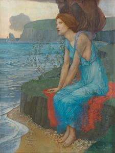 Ariadne on the Isle of Naxos by Edward Reginald Frampton