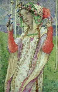 Fairy Land, 1906 by Edward Reginald Frampton