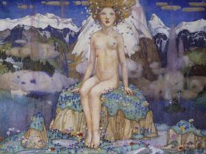 Love in the Alps by Edward Reginald Frampton