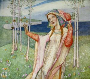Spring. 1911 by Edward Reginald Frampton