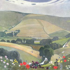 Thunderbarrow Hill, Near Bramber by Edward Reginald Frampton