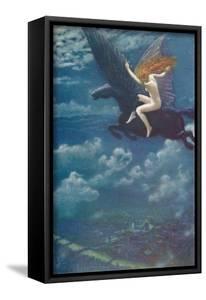 Dream Idyll (A Valkyrie), 1902, (1905) by Edward Robert Hughes