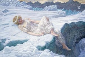 Heart of Snow, 1907 by Edward Robert Hughes