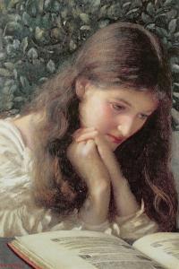 Idle Tears by Edward Robert Hughes