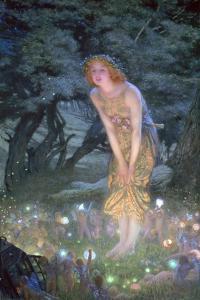Midsummer Eve, C1871-1914 by Edward Robert Hughes