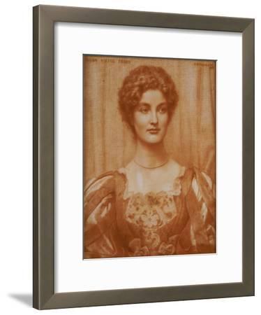 Portrait of Hilda Virtue Tebbs, 1897