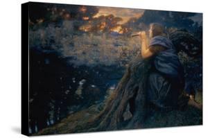 Twilight Fantasies, 1911 (W/C) by Edward Robert Hughes