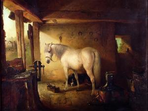 The Blacksmith's Shop by Edward Robert Smythe