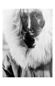 Alaskan Native by Edward S^ Curtis