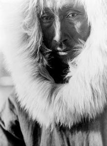 Alaskan Native by Edward S. Curtis
