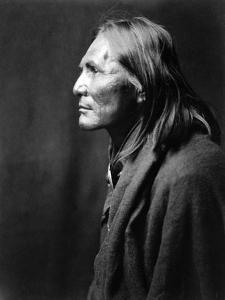Alchise, Apache Indian by Edward S^ Curtis