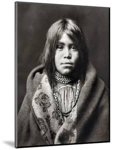 Apache Girl, C1903 by Edward S^ Curtis