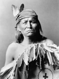 Apache Man, C1903 by Edward S^ Curtis