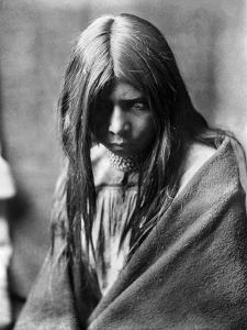 Apache Man, C1906 by Edward S^ Curtis