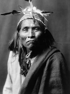 Apache Man, C1906 by Edward S. Curtis