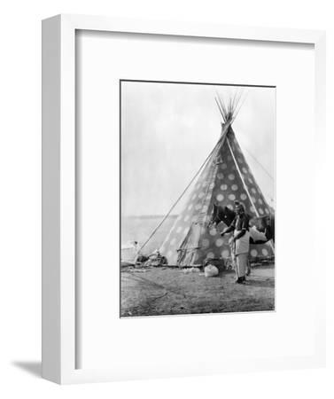 Blackfoot Tepee, c1927