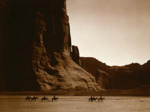 Canyon de Chelly, Navajo by Edward S^ Curtis