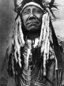 Cheyenne Chief, C1910 by Edward S^ Curtis
