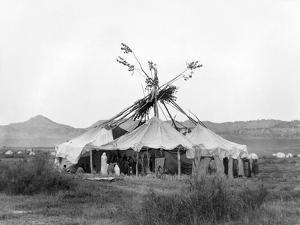 Cheyenne Sun Dance, c1910 by Edward S. Curtis