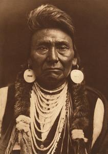 Chief Joseph-Nez Perce, 1903 by Edward S Curtis