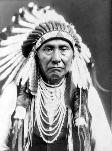 Chief Joseph by Edward S^ Curtis