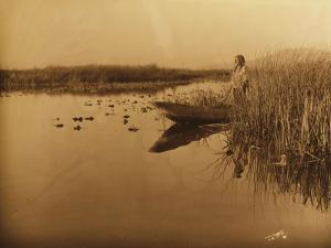 Clamath Marsh, 1898 by Edward S^ Curtis