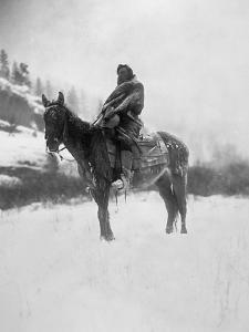 Curtis: Scout, 1908 by Edward S^ Curtis