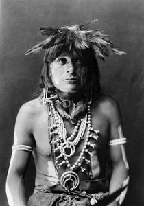 Hopi Chief, c1900 by Edward S^ Curtis