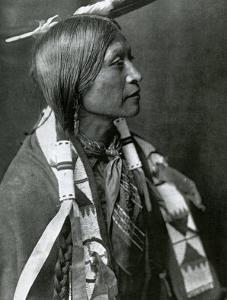 Jicarilla Apache by Edward S^ Curtis