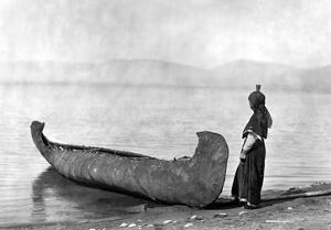 Kutenai Woman, c1910 by Edward S^ Curtis