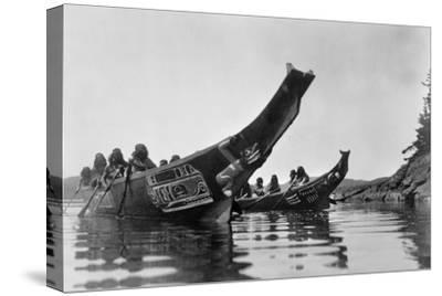 Kwakiutl Canoes, c1914